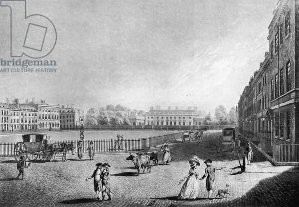 View of Bloomsbury Square, 1787 (engraving)