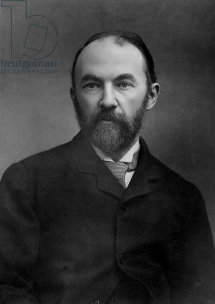 Portrait of Thomas Hardy (b/w photo)