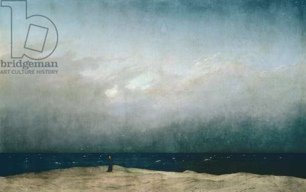 Monk by the Sea, 1808-10 (oil on canvas)