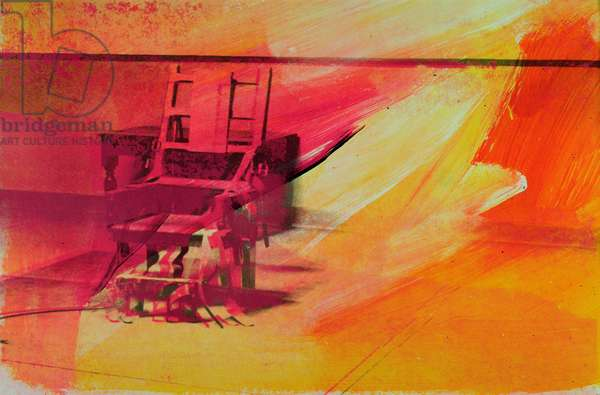 Electric Chair, 1971 (screenprint on paper) (see also 182846)