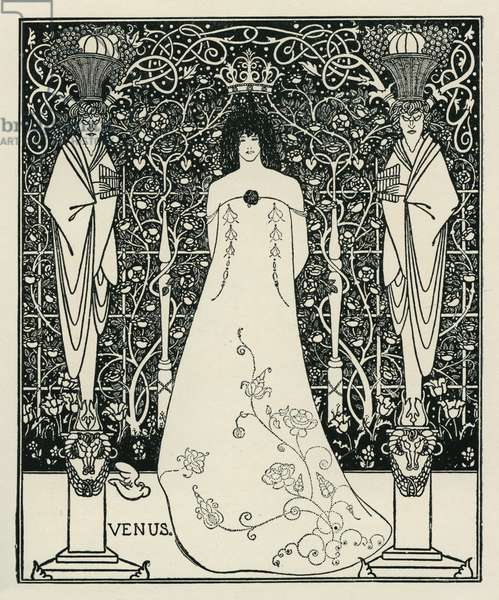 Venus and Tannhäuser by Aubrey Beardsley