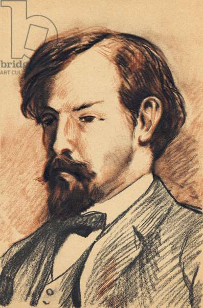 Claude Debussy - pencil