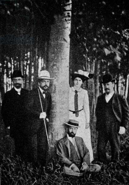 Claude Debussy at Eragny