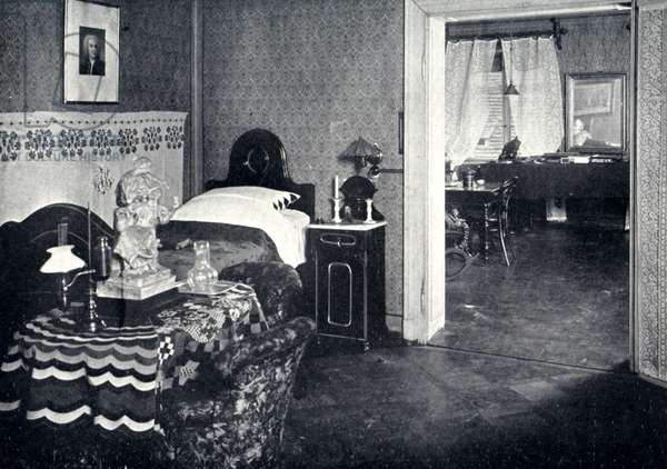 Johannes Brahms ' bedroom