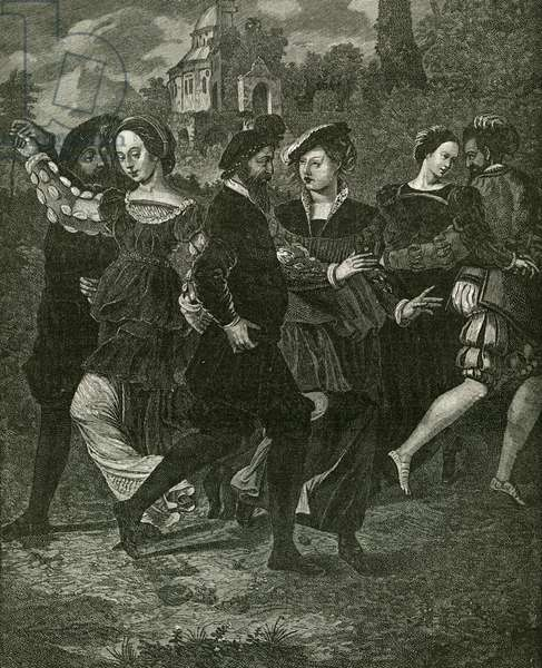 The Dancing Picture by Hans Holbein