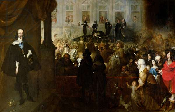 Execution of Charles I (1600-49) at Whitehall, January 30th, 1649 (oil on canvas)
