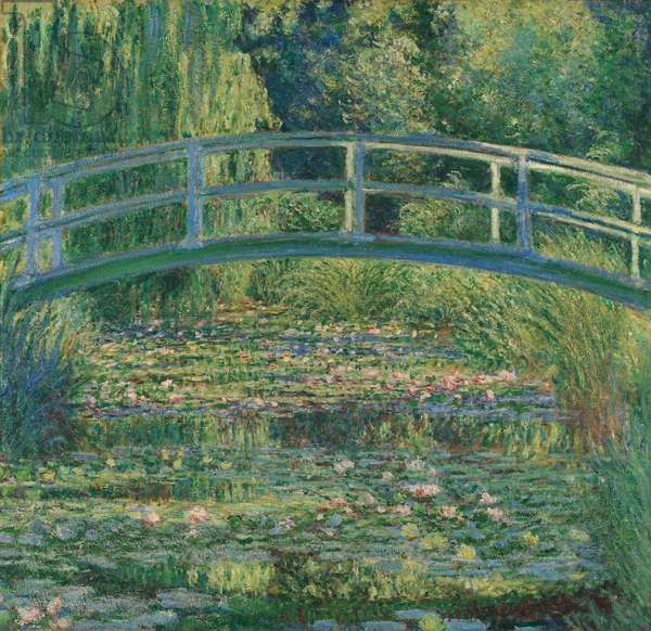 Waterlily Pond, 1899 (oil on canvas)