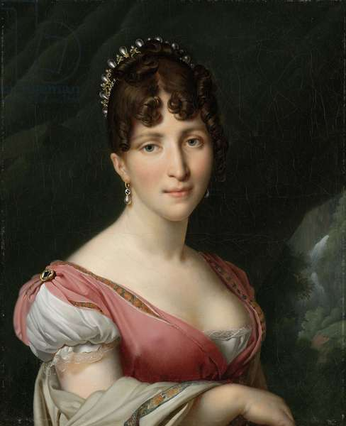 Portrait of Hortense de Beauharnais, Queen of Holland,1805-9 (oil on canvas)