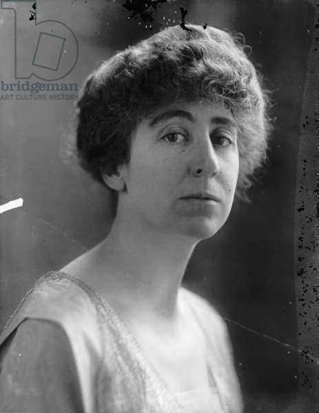 Jeanette Rankin, c.1917 (b/w photo)