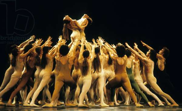 Ballet By Maurice Bejart The Rite of Spring January 1983 (photo)