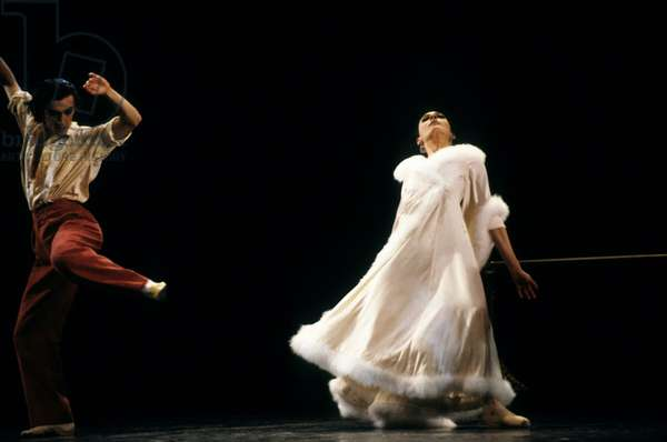 Ballet Le Concours By Maurice Bejart in Paris April 17, 1985 (photo)