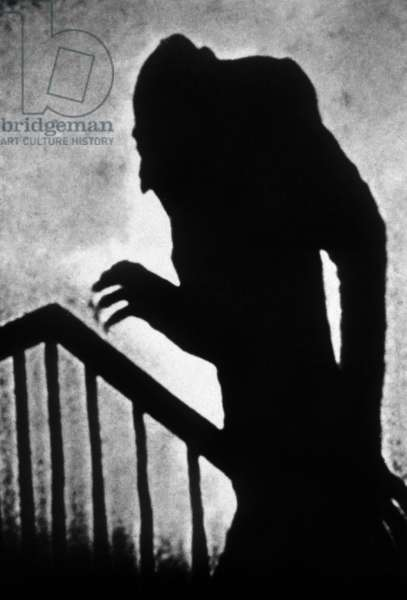 Nosferatu le vampire Nosferatu the Vampire (Eine symphonie des grauens) de FWMurnau avec Max Schreck 1922 (adaptation de Dracula de BramStoker)