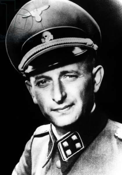 Adolf Eichmann (1906-1962) German SS Lieutenant-Colonel, Chief of the Jewish Office of the Gestapo during second world war