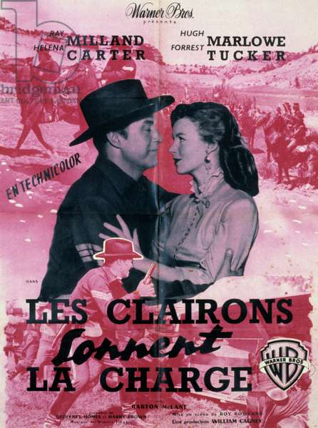Les clairons sonnent la charge ( Bugles in the Afternoon ) de RoyRowland avec Ray Milland et Helena Carter 1952