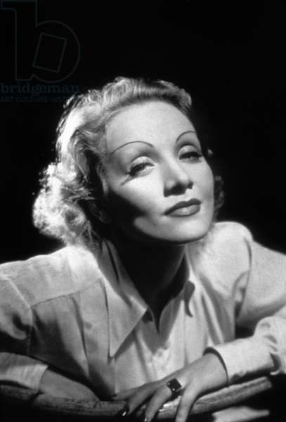 Marlene Dietrich (born Marie Magdalene Dietrich, 1901 - 1992), German-born American Actress and Singer.