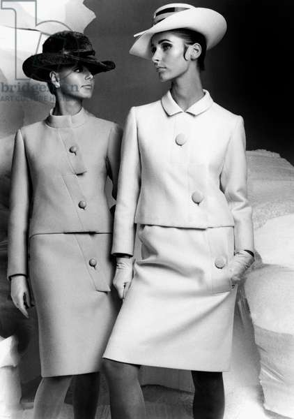 Lanvin fashion for autumn-winter collection 1966