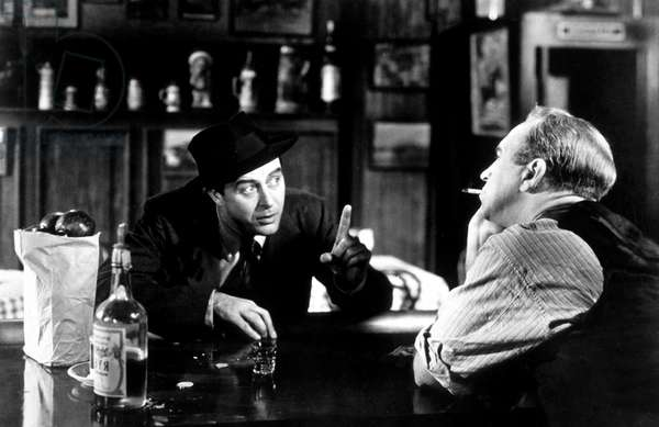 Le Poison The Lost weekend de BillyWilder avec Ray Milland et Howard da Silva 1945 (Palmed'or1946) Oscar1945