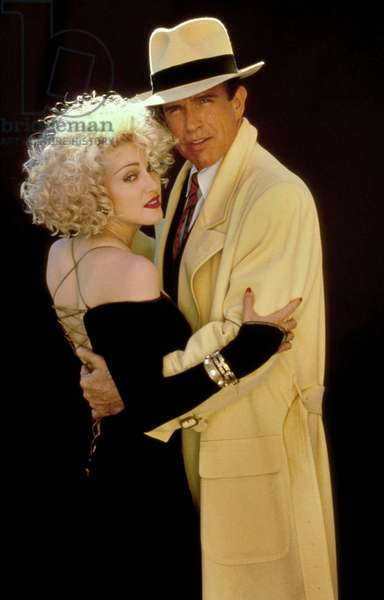 Dick Tracy de WarrenBeatty avec Warren Beatty et Madonna 1990