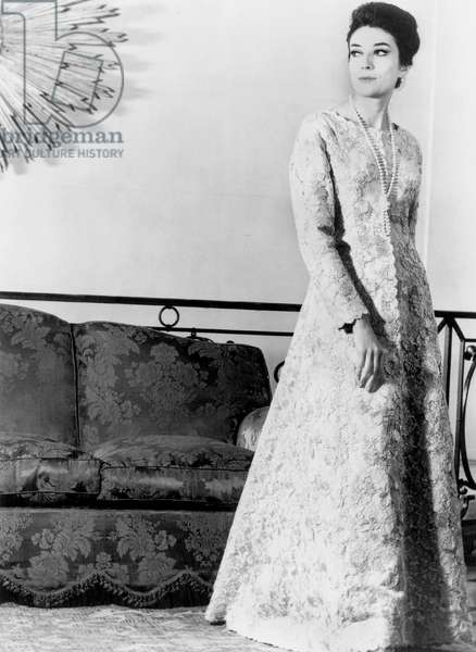Balenciaga lace dress November 03, 1963