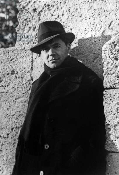 Jean Moulin (1899-1943) French resistant, photo by Marcel Bernard on October 1939