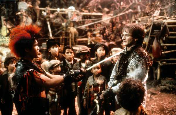 Hook de Steven Spielberg avec Robin Williams (Peter Pan), 1991