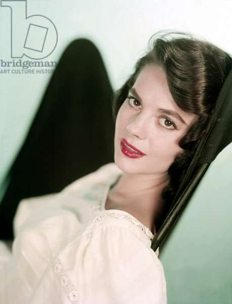 Actress Natalie Wood (1938-1981) c. 1955