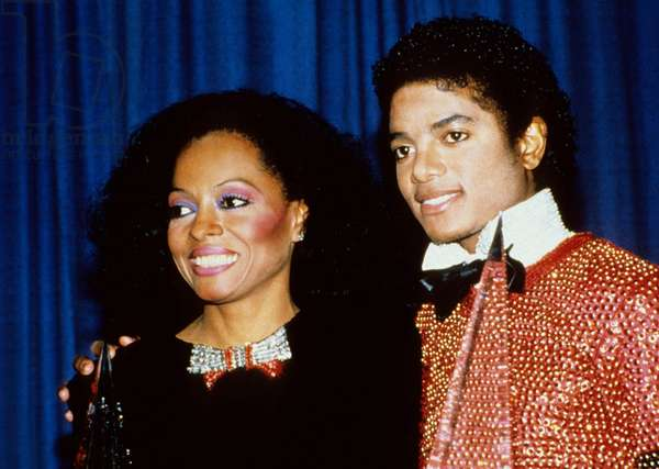 Michael Jackson and Diana Ross in 1988