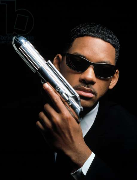 MEN IN BLACK de BarrySonnenfeld avec Will Smith, 1997 (lunettes noires Ray Ban)