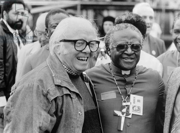 Richard Attenborough et Desmond Tutu
