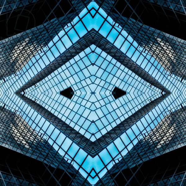 Diamond skylight, 2014 (digital image)