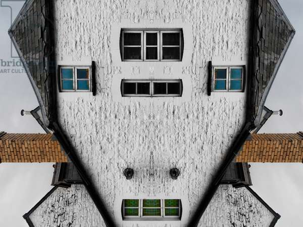 Robot house, 2014 (digital image)