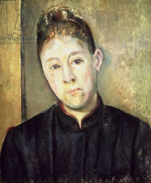 Portrait of Madame Cezanne, 1885 (oil on canvas)
